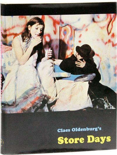 New York: Something Else Press, 1967. First Edition. Quarto (28cm.); original cloth in black photo-i...