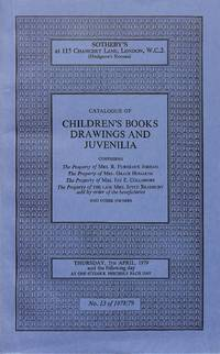 Sale 5 April 1979: Children's Books Drawings and Juvenilia.