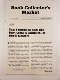 Book Collector's Market, Vol 4,  No.1, January/February, 1979
