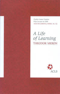 image of A Life of Learning (ACLS Occasional Paper No. 65)