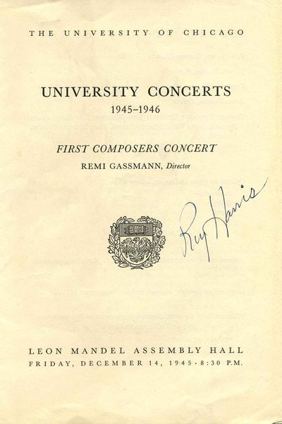 Chicago, IL: University of Chicago, 1945. Book. Very good condition. Paperback. Signed by Author(s)....