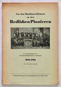 image of Von den Maschinenstürmern zu den redlichen Pionieren. Zur Jahrhundertfeier der Genossenschaftsgründung von Rochdale 1844-1944