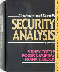 Graham and Dodd's Security Analysis by  Frank E  Roger F. / Block - Fifth Edition: First Printing - 1988 - from KEENER BOOKS (Member IOBA) and Biblio.com