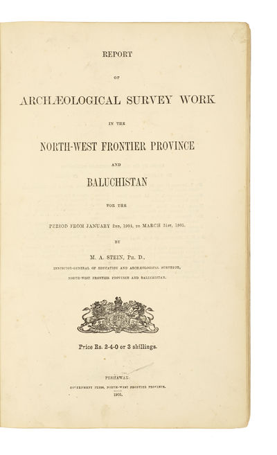 Report of archaeological survey work...