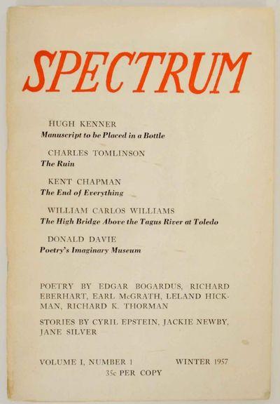 Santa Barbara, CA: Spectrum / Santa Barbara College, 1957. First edition. Softcover. 61 pages. Inclu...