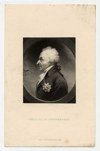 Engraved portrait of The Duke Of Queensberry