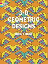 image of 3-D Geometric Designs (Dover Design Coloring Books)