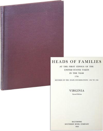 Baltimore: Southern Book Company, 1952. Second Edition. Quarto (28.5cm.); dark red publisher's cloth...