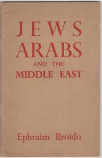 Jews, Arabs and the Middle East