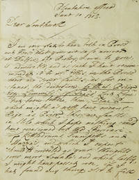 """Autograph Letter Signed (""""Mat Prior""""), to Edward Southwell by  Matthew Prior - Hardcover - 1709 - from James Cummins Bookseller and Biblio.com"""