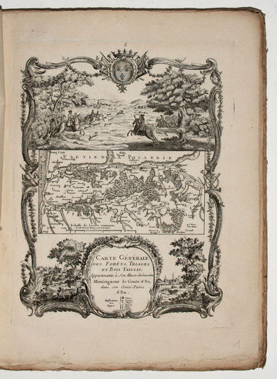 : Gravée par Chambon, 1768. Soft cover. Very Good. 4to. . 40 numbered single-sided engraved plates....