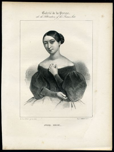 ABAA | 12 Engraved Portraits of 19th-Century Opera Singers