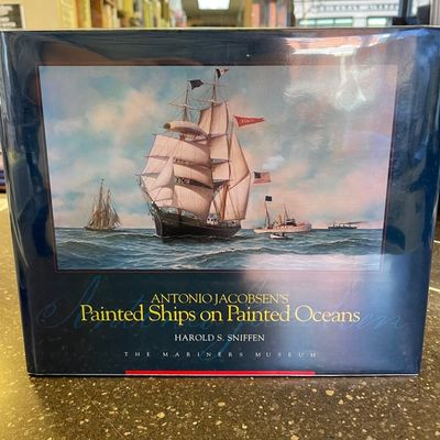 Newport News, VA: The Mariner's Museum, 1994. First edition; signed by author. Oblong quarto in blue...