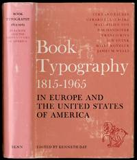 image of Book Typography 1815-1965 in Europe and The United States of America