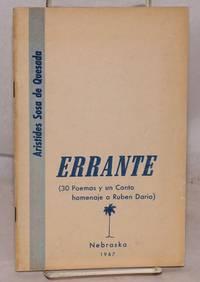image of Errante: 30 poemas y un canto, homenaje a Ruthe authorben Dario