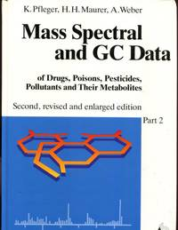 Mass spectral and GC data of drugs, poisons, pesticides, pollutants, and their metabolites, Part...