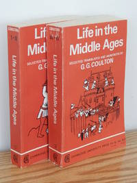 """image of Life in the Middle Ages, I & II; """"Religion, Folklore, and Superstitution,""""  """"Chronicles, Science and Art"""""""