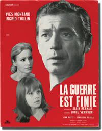 image of The War is Over [La Guerre Est Finie] (Original pressbook for the 1966 film)