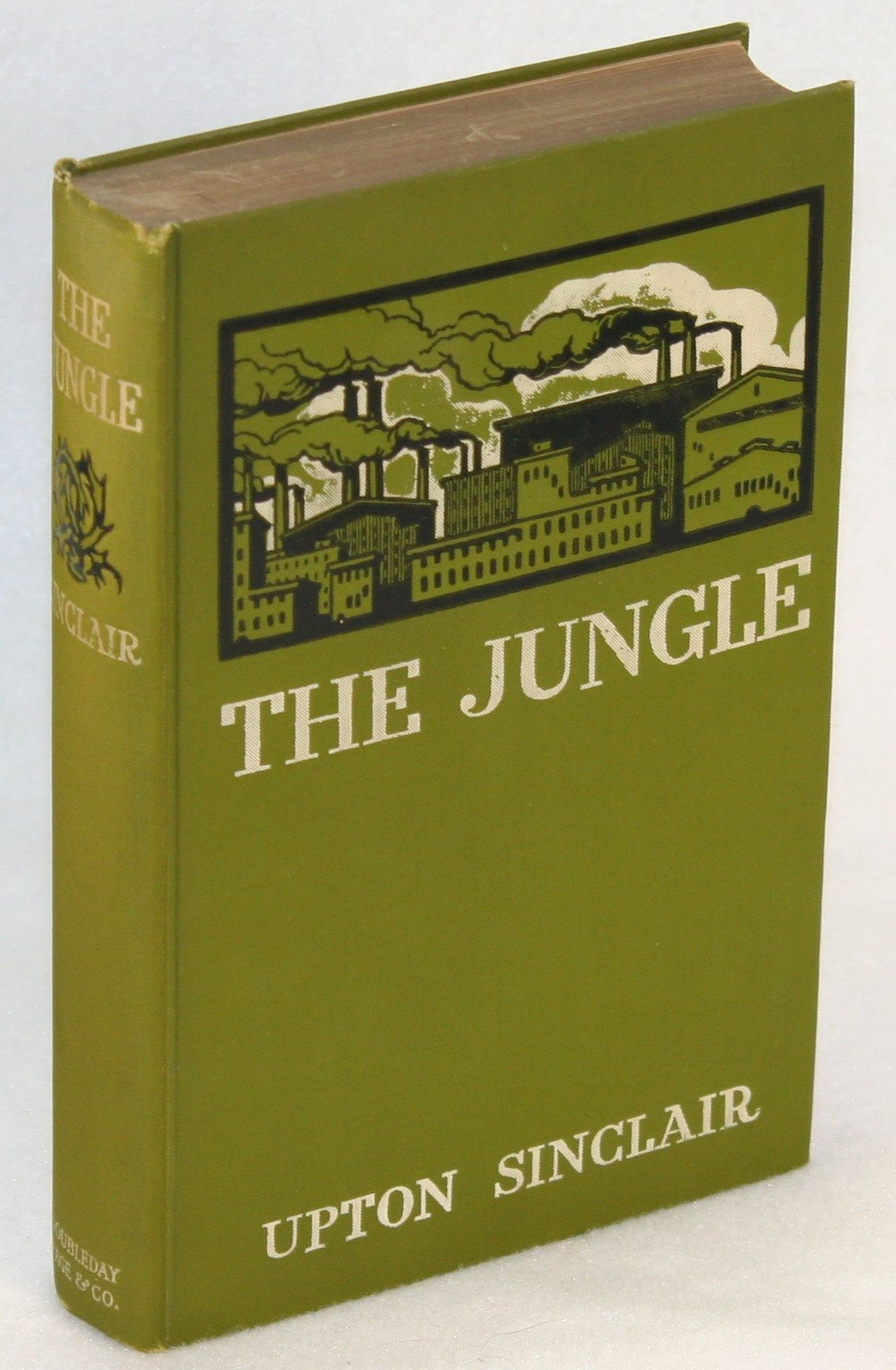 """the jungle by upton sinclair letter Upton sinclair's the jungle was a novel -- fictional, not factual  (source: letter  to william allen white, july 31, 1906, from """"the letters of theodore roosevelt,""""."""