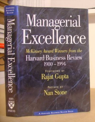 Managerial excellence: McKinsey award winners from the Harvard business review, 1980-1994