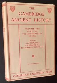 The Cambridge Ancient History -- Vol. VIII (Rome and the Mediterranean 218-133 B.C.)