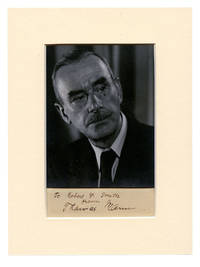image of Photograph of Thomas Mann, Inscribed to Robert W. Smith