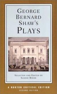 George Bernard Shaw's Plays Norton Critical Editions