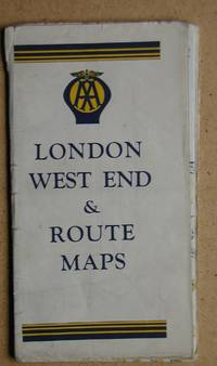 AA London West End & Route Maps.