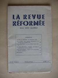 La Revue Reformee  - Soli Deo Gloria - No. 27  -  Trimestriel  - Tome VII by Collectif - Paperback - Première - 1956 - from Goldring Books and Biblio.co.uk