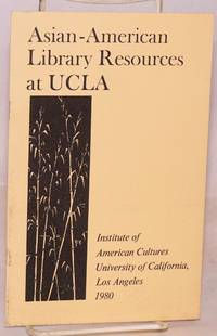 Asian American library resources at UCLA