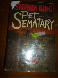 Pet Sematary by  Stephen King - First Edition, First Printing  - 1983 - from Gargoyle Books (SKU: 015332)