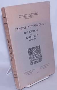 image of Tangier at High Tide: The Journal of John Luke, 1670-1673
