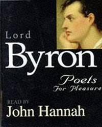 Byron: Poets For Pleasure