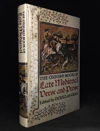 image of The Oxford Book of Late Medieval Verse and Prose