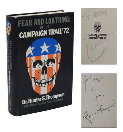 San Francisco: Straight Arrow Publishers, 1973. Reprint. Fine/Near Fine. Reprint. Signed by both Hun...