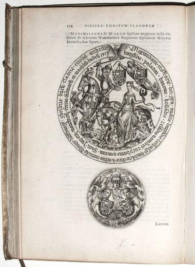 Bruges: Jan van den Kerckhove, 1639. Hardcover. Very Good. 4to . (6) ff., 308 pp., (48) ff., engrave...