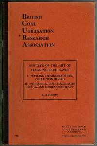 Surveys of the Art of Cleaning Flue Gases by R. Jackson - Paperback - 1961 - from Lazy Letters Books (SKU: 072400)