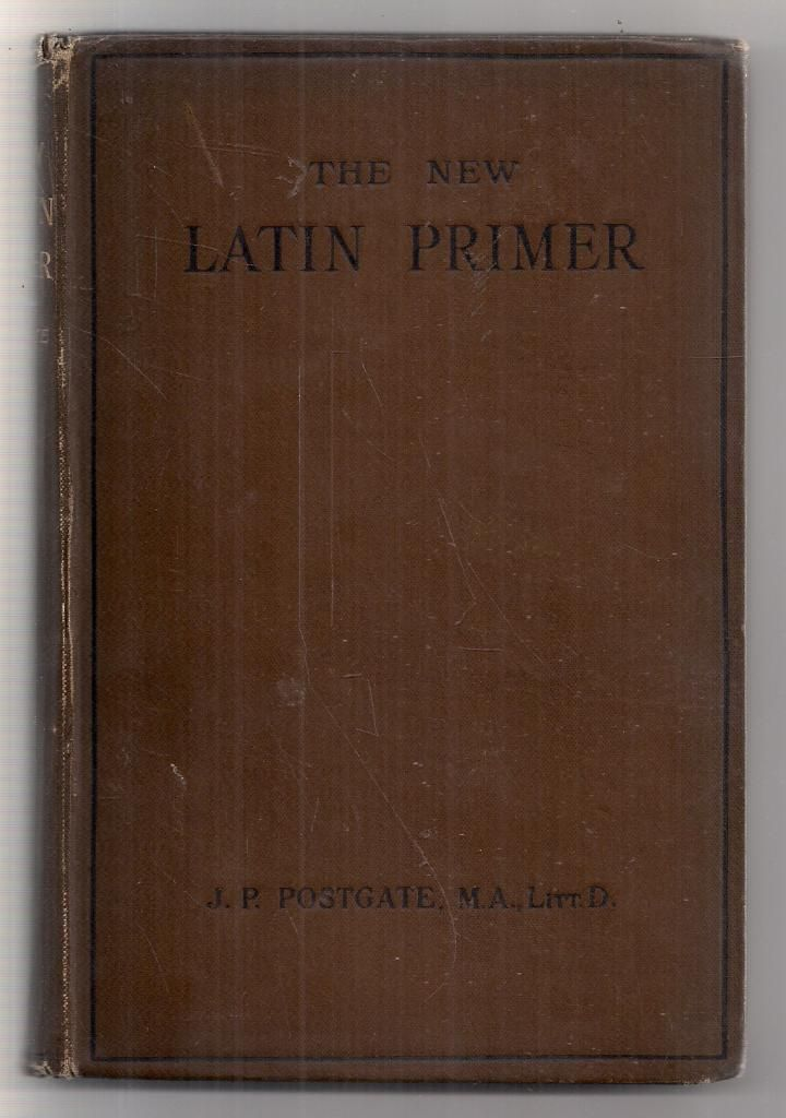 Book Of A Lifetime: Kennedys Latin Primer, by Benjamin