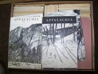 APPALACHIA: Bulletin, Appalachian Mountain Club. 1901-1960; an interrupted run - 68 issues plus 3 duplicates.