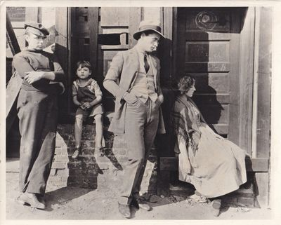 N.p.: N.p., 1925. Vintage reference photograph from the 1925 film, showing actors George K. Arthur, ...