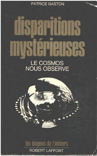 image of Disparitions mysterieuses / le cosmos nous observe