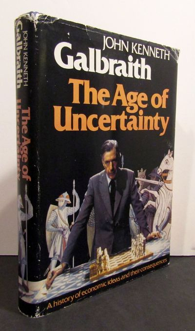 Boston: Houghton Mifflin, 1977. First edition, this copy inscribed & initialed by Galbraith in the y...