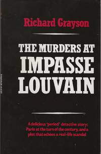 image of THE MURDERS AT IMPASSE LOUVAIN