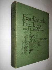 Backblock Ballads And Later Verses by Dennis C.J - First Edition - 1918 - from Flashbackbooks (SKU: biblio2472 F25029)