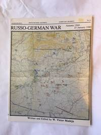 The Russo-German War, Autumn 1944-25 January 1945 (Battle Situation-east Front)