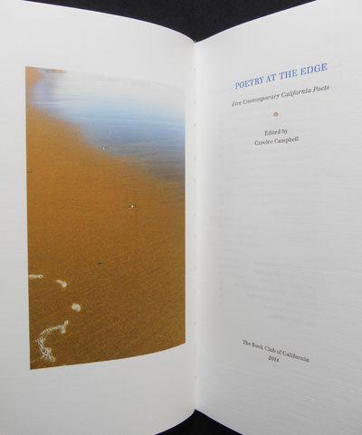 Ojai, California: The Book Club of California , 2014. Limited Edition. Hardcover. Fine. Campbell, Ca...