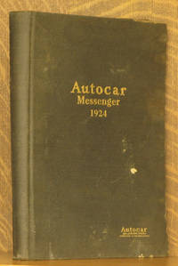 AUTOCAR MESSENGER VOL. X,  1924 (FULL YEAR BOUND AS ONE)