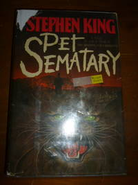 Pet Sematary by  Stephen King - First Edition Later Printing  - 1983 - from Gargoyle Books (SKU: 015333)