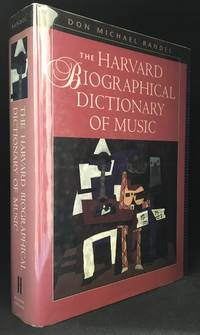 image of The Harvard Biographical Dictionary of Music