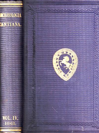 London: John E. Taylor, 1861. Hardcover. Very good. li, 321pp+ index. Extremities lightly worn, else...